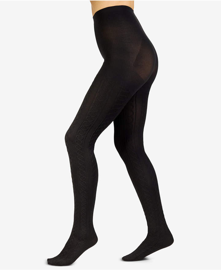 Berkshire Plus Size The Easy On! Cable-Knit Tights