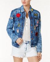 William Rast Cotton Patch Denim Jacket