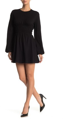Emory Park Long Sleeve Elastic Waist Knit Dress