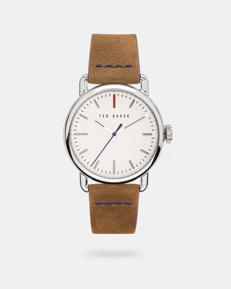Ted Baker TOMCOOB Suede strap watch