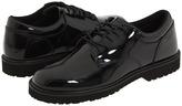 Bates Footwear High Gloss Uniform Oxford Men's Dress Flat Shoes