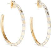 Thumbnail for your product : Adina Reyter 14-karat Gold Diamond Hoop Earrings