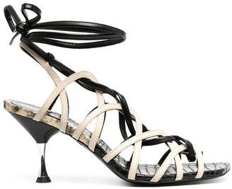 Just Cavalli Strappy High Heel Sandals