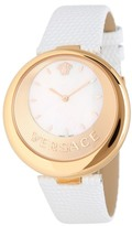 Versace Women's Perpetuelle Leather Strap Watch