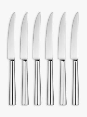 John Lewis & Partners Ellipse Steak Knives, Set of 6