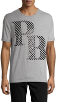 Pierre Balmain Logo Print Crewneck T-Shirt
