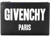Givenchy Iconic Print leather clutch