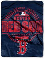 Northwest Company Boston Red Sox Micro Raschel Structure Blanket