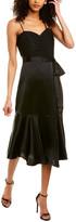Cinq à Sept Vienna Silk Midi Dress