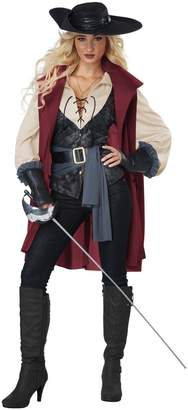 California Costumes Women's Lady Musketeer-Adult Costume