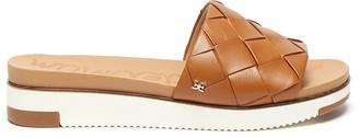 Sam Edelman Adaley' woven band platform leather sandals
