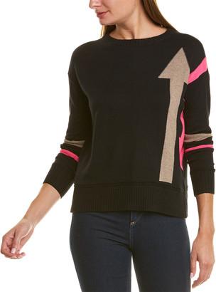 LISA TODD Dropped-Shoulder Cashmere-Blend Sweater