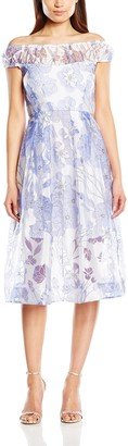 French Connection Women's Water Garden Sheer Dress
