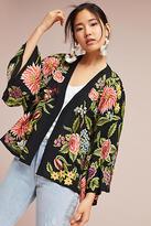 Veroalfie Montana Embroidered Kimono