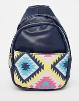 Urban Originals Backpack With Printed Pocket