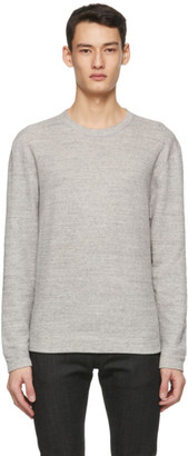 Naked and Famous Denim Grey Slim Vintage Sweater