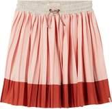 Scotch & Soda Pleated Jersey Midi-Skirt