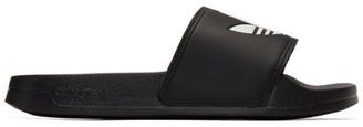 adidas Black Adilette Lite Sandals