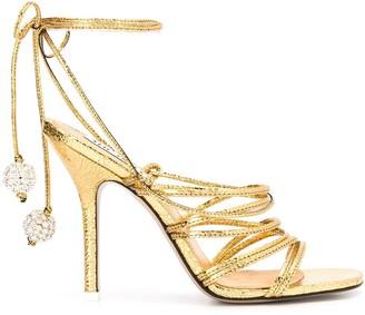 ATTICO Open Toe Strappy Sandals