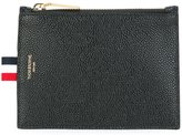Thom Browne classic zip wallet - men - Calf Leather - One Size