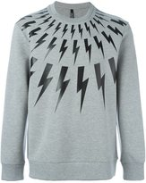 Neil Barrett thunder sweatshirt