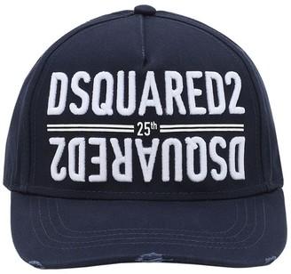 DSQUARED2 Anniversary Cotton Canvas Baseball Hat