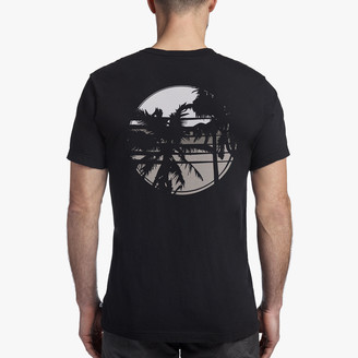 James Perse Palm Graphic Tee