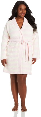 Casual Moments Women's Plus-Size Marshmallow Hooded Wrap
