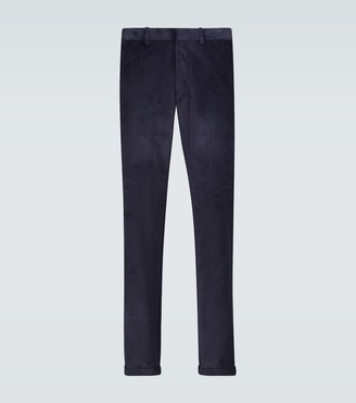 Caruso Regular-fit corduroy pants