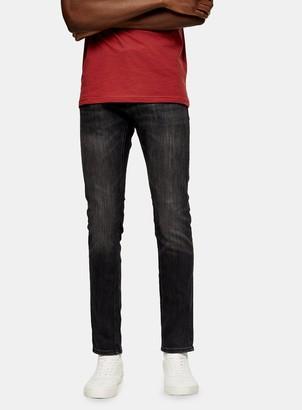 Topman JACK & JONES Black Stretch Skinny Denim Jeans