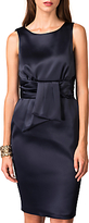Closet V-Back Tie Waist Dress, Navy