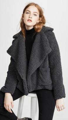 BB Dakota Soft Skills Faux Fur Jacket