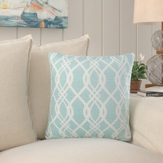 """Rosecliff Heights Brookwood Indoor/Outdoor Throw Pillow Size: 18"""" H x 18"""" W x 6"""" D"""