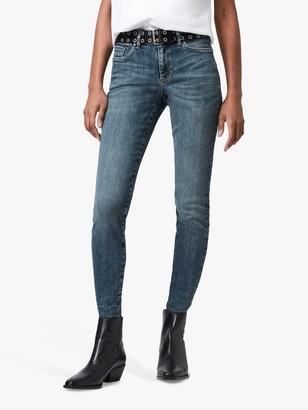 AllSaints Miller Size Me Jeans, Hunter Blue