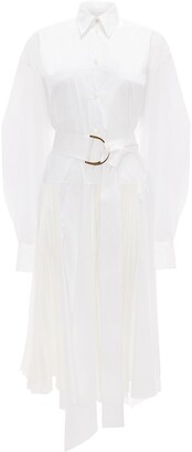 J.W.Anderson Pleated Shirt Dress