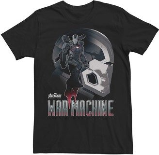 Men's Marvel Avengers Infinity War War Machine Silhouette Graphic Tee