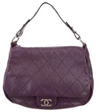 Chanel Large On The Road Flap Bag