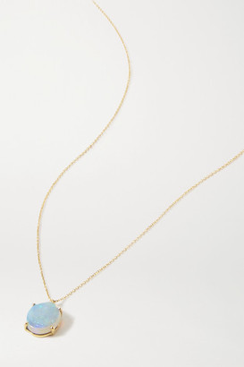 WWAKE 14-karat Gold Opal Necklace