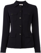 Alberto Biani buttoned fitted jacket