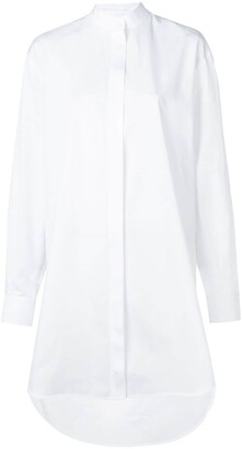 Givenchy Pleated Detail Shirt Dress