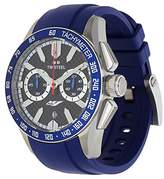 TW Steel Men's 'Grandeur Sport' Quartz Stainless Steel and Silicone Dress Watch