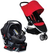 Britax B-Agile 3B-Safe 35 Elite Travel System - Red/Domino