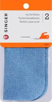 Singer 5-Inch-by-5-Inch Iron-On Patches, 2-Pack