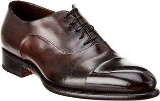Santoni Leather Oxford