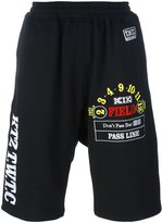 Kokon To Zai track shorts - men - Cotton - S