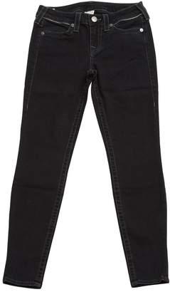 True Religion Black Cotton Jeans
