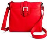 Merona Women's Crossbody Faux Leather Handbag