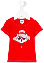 Karl Lagerfeld printed T-shirt - kids - Cotton/Modal - 36 mth