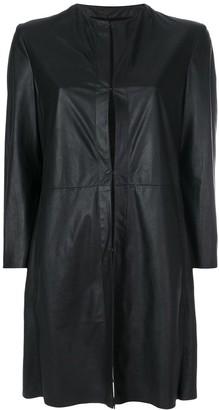Drome Collarless Long Jacket