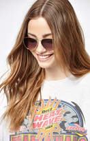 La Hearts Basic Aviator Sunglasses